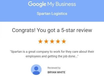 Testimonial Spartan Employee