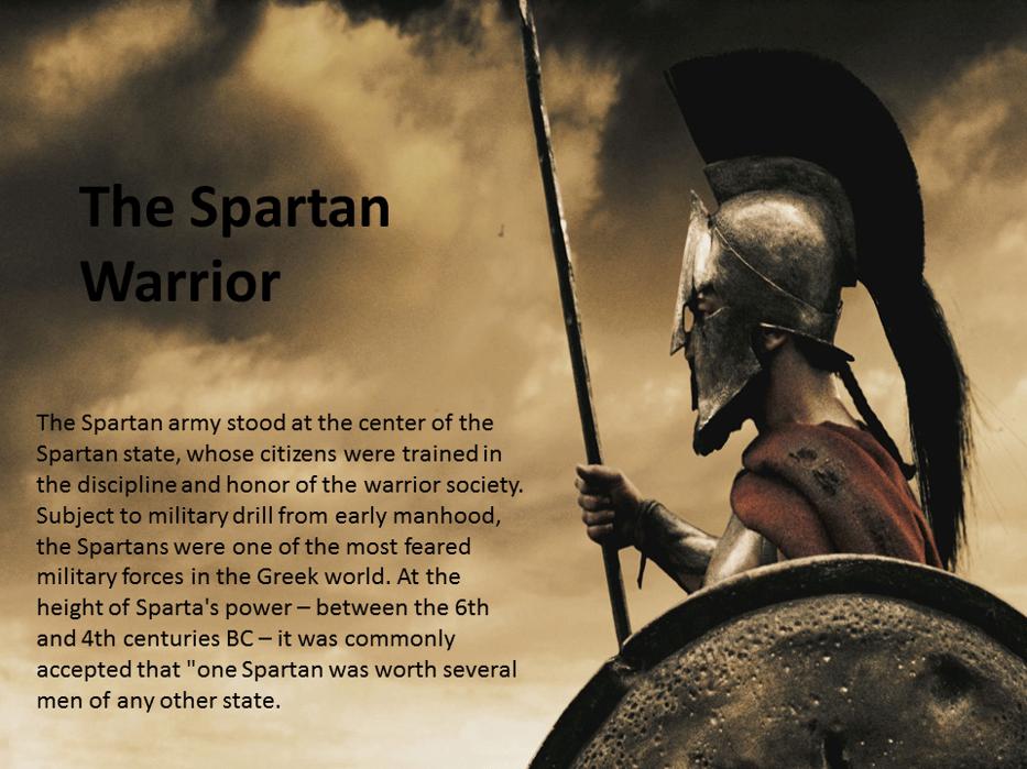 The Spartan Warrior