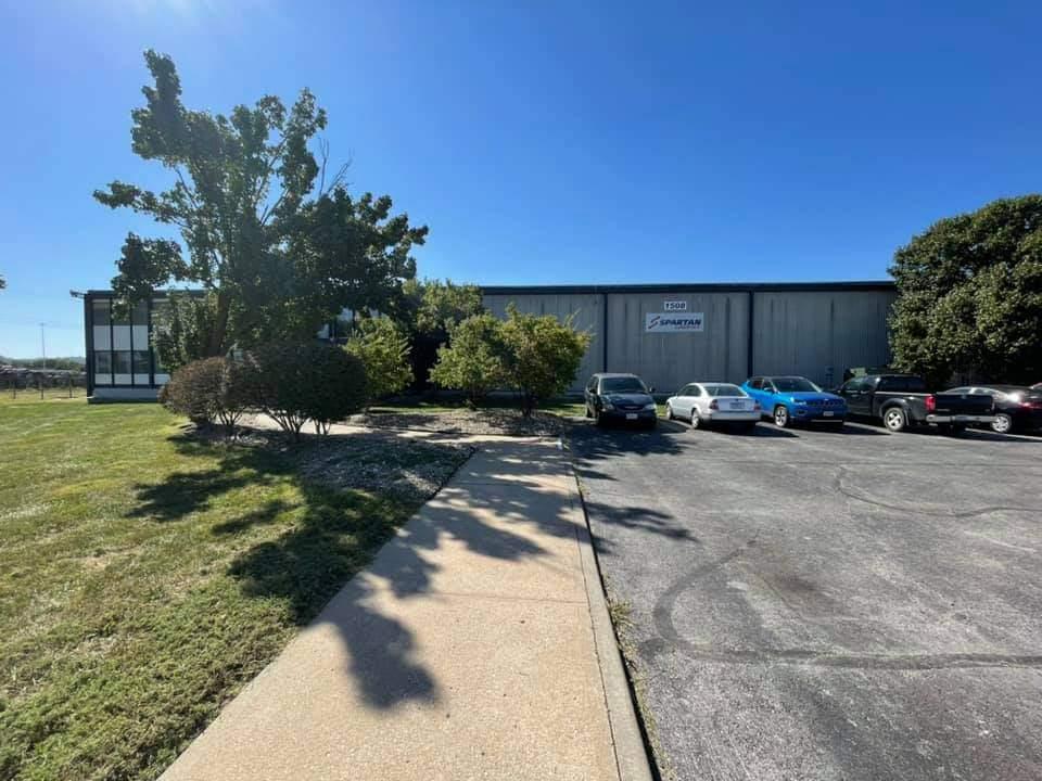 KC warehouse front door