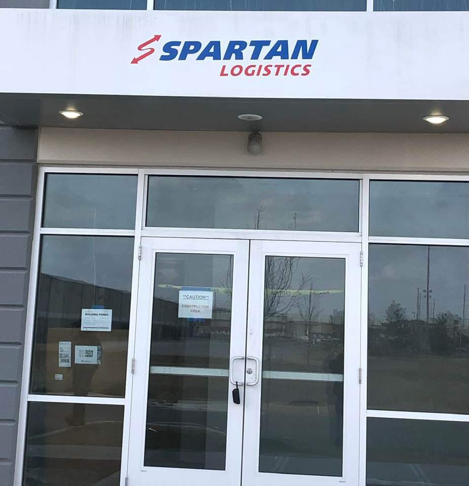 Spartan's Greenwood, IN front entrance