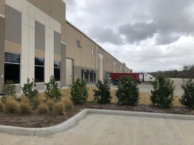 Houston warehouse exterior
